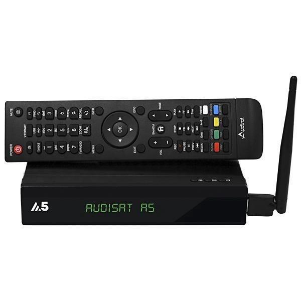 Receptor  FTA Audisat A5 + WiFi  laçamento