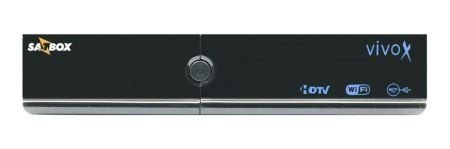 Receptor SatBox VivoX - 4K Ultra HD -AMC WIFI H.265 SKS IKS 2ANT. PRETO