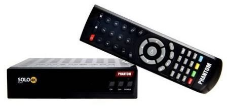 receptor phantom solo 4k - full hd/wifi/hdmi/sks/iks