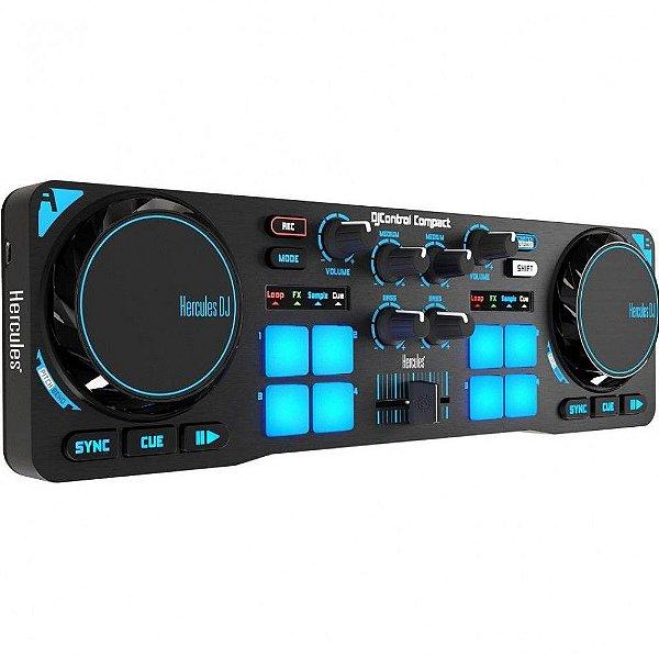 CONTROLADORA DJ HERCULES CONTROL COMPACT