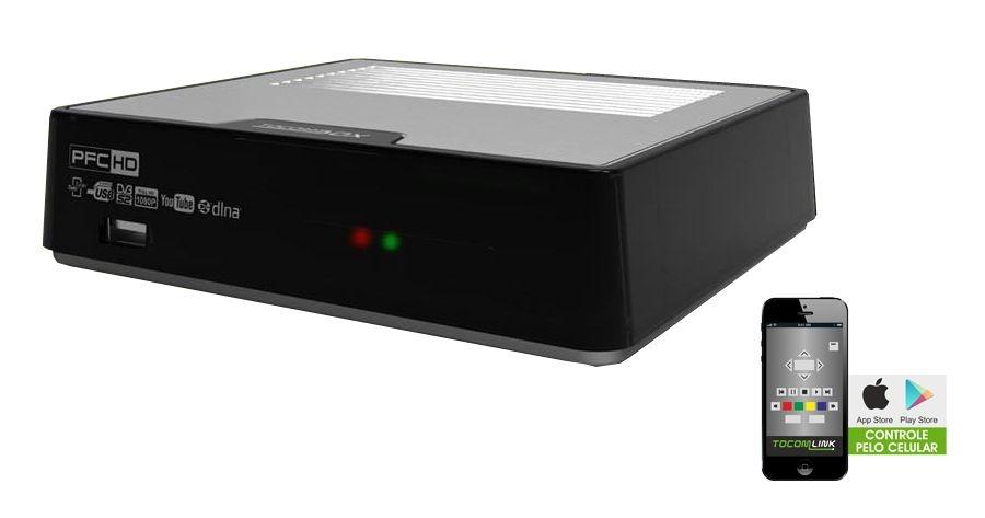 RECEPTOR TOCOMBOX PFC 2 FULL HD/IKS/SKS/IPTV18+/WIFI