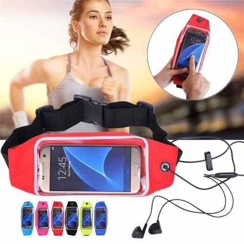 Pochete Fitness Cinto Para Corrida E Exercicios Impermeavel Para Celular E Documentos