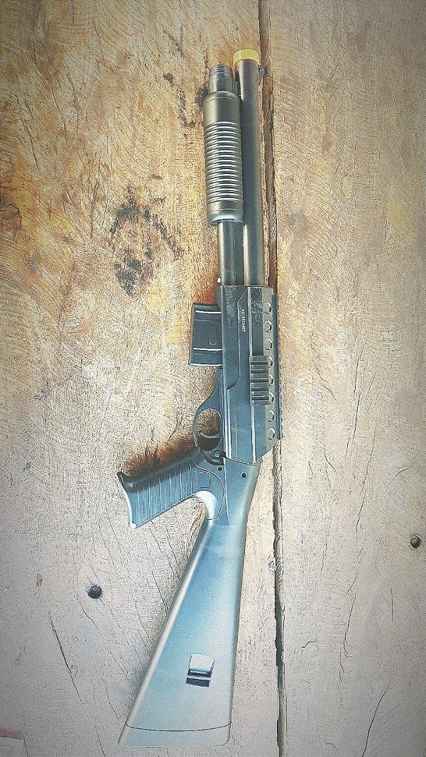 Arma de Airsoft Shotgun VG 581B MOLA 6mm