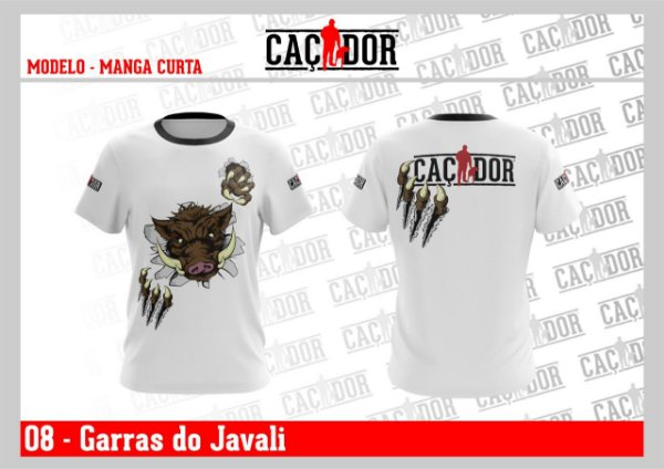 Camiseta Garras do Javali