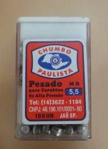 Chumbinho Paulista Pesado 5.5mm