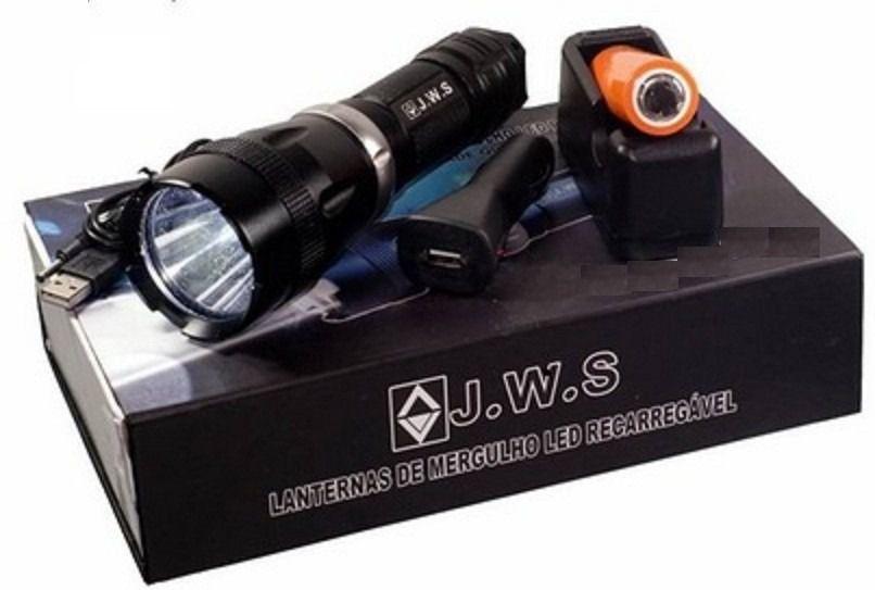 Lanterna de Mergulho LED Recarregável WS-575