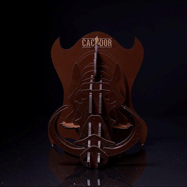 Quebra Cabeça 3D Cabeça de Javali