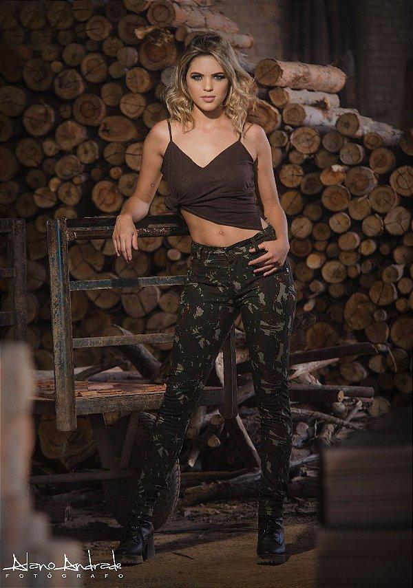 Calça Skinny Army Exercito
