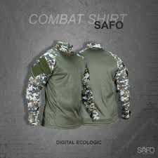 COMBAT SHIRT SAFO DIGITAL ECOLOGIC