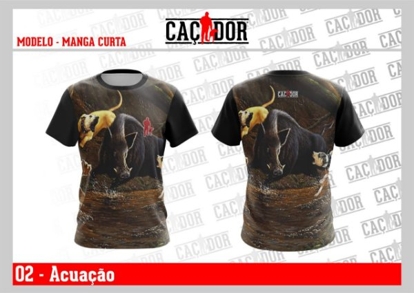 Camiseta Acuação Dry Fit UV