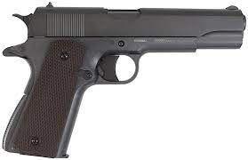 Pistola de Pressão CO2 M1911 Chumbinho 4,5mm 12 tiros KWC Rossi
