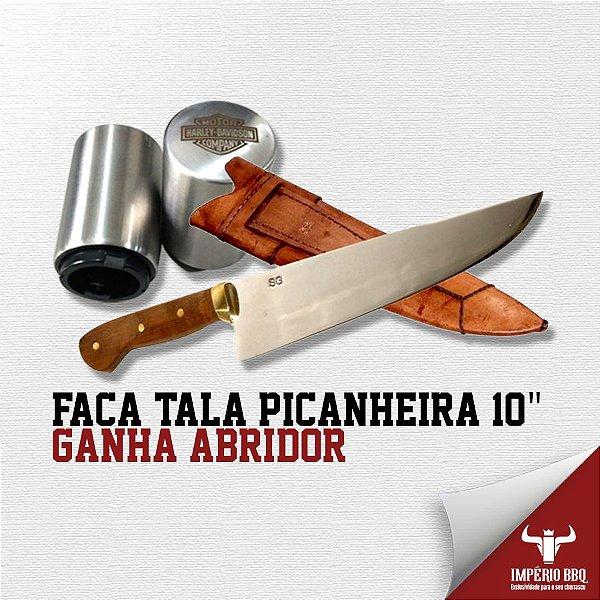 """FACA TALA PICANHEIRA 10"""" - GANHE ABRIDOR"""