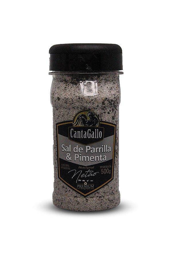 Sal de Parrilla e Pimenta Ed. Especial Netão 500g