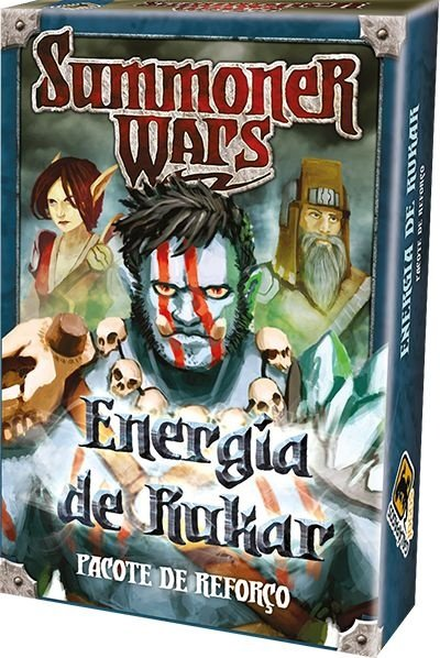 ENERGIA DE RUKAR - Pacote de Reforço Summoner Wars