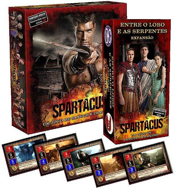 Spartacus + Expansão + Promos (COMBO PACK)