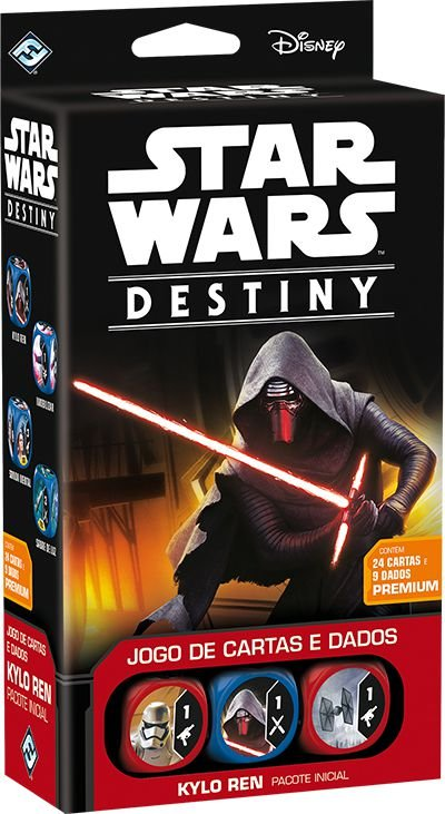 STAR WARS DESTINY - Pacote Inicial Kylo Ren