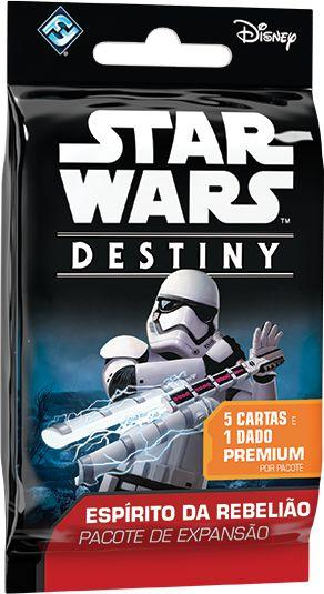STAR WARS DESTINY - Pacote Individual de Expansão Espírito da Rebelião