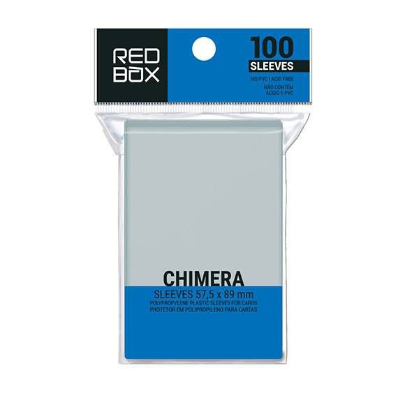 Sleeves Redbox: USA CHIMERA (57 x 89 mm) - Pacote c/100
