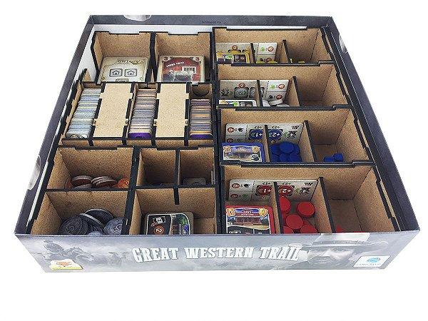 Organizador (Insert) para Great Western Trail