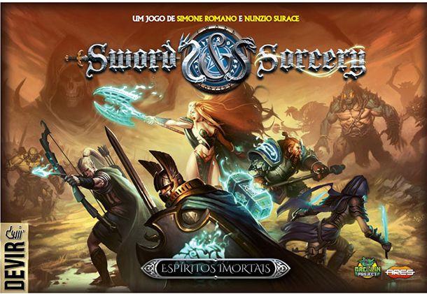 Pré venda - Sword and Sorcery