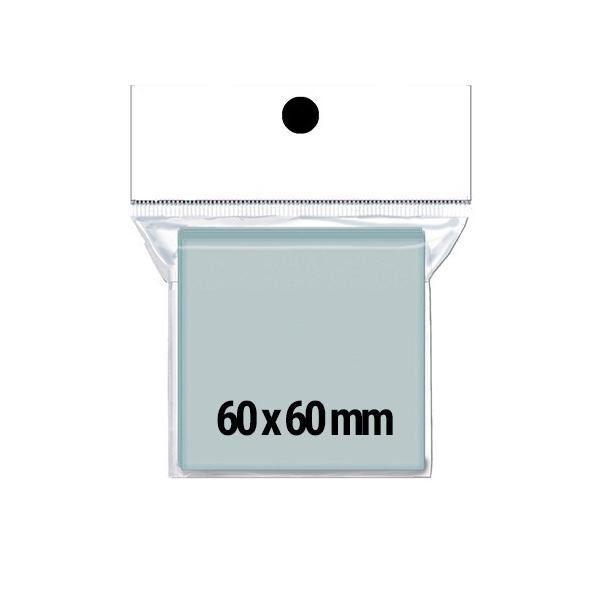 Sleeves Redbox: Quadrado 60x60 - Pacote c/ 75