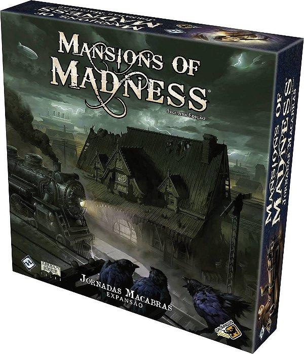 Jornadas Macabras: Expansão Mansions of Madness