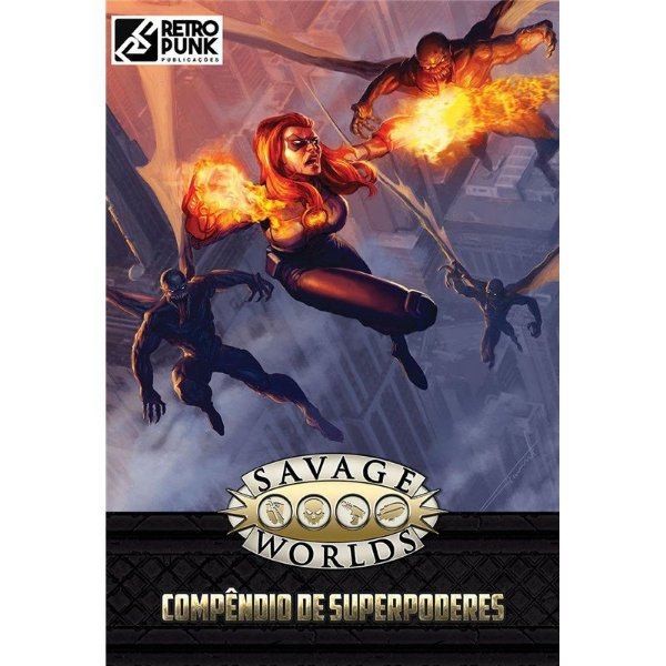 SAVAGE WORLDS: COMPÊNDIO DE SUPERPODERES