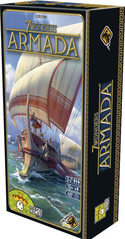 7 Wonders: Armada - Pré-Venda