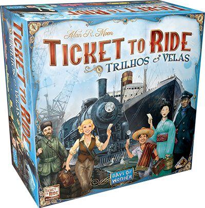 Ticket to Ride: Trilhos e Velas - Pré-venda