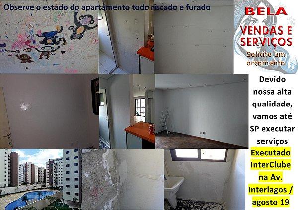 Pintura de apartamento em várias cidades