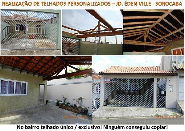 Confecção, conserto, descupinização, lavagem e resinagem de telhados
