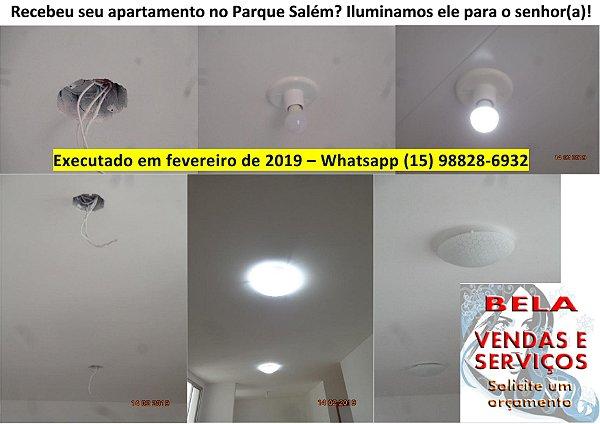 Iluminação Residencial e Comercial (Conserto, Instalação e Limpeza)