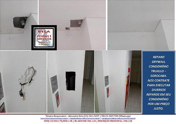 Reparo em Drywall