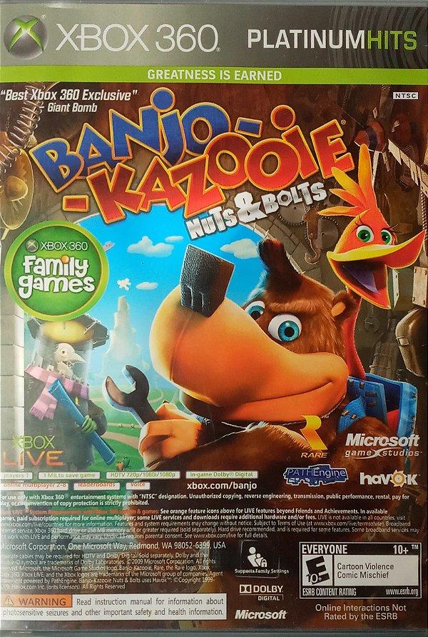 Jogo Banjo-Kazooie Nuts & Bolts + Viva Piñata