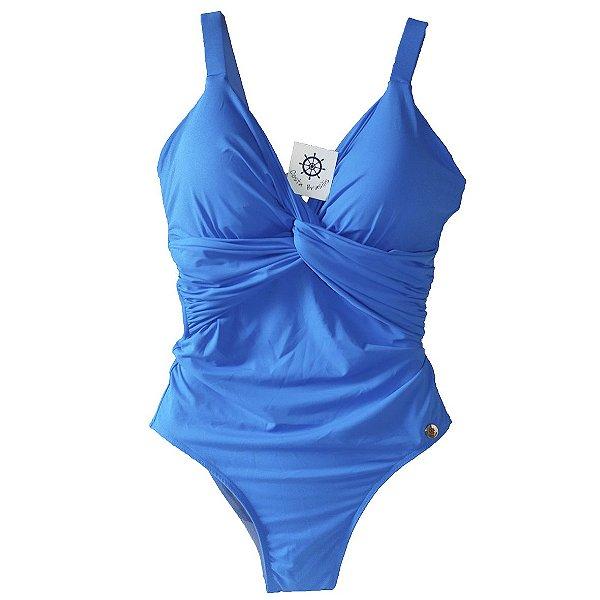 Maiô Tivoli Azul Paradise com bojo fixo