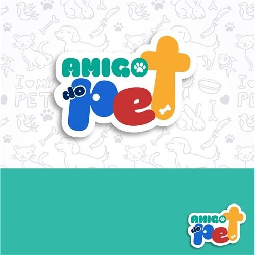 Logotipo para Pet Shop e Veterinária