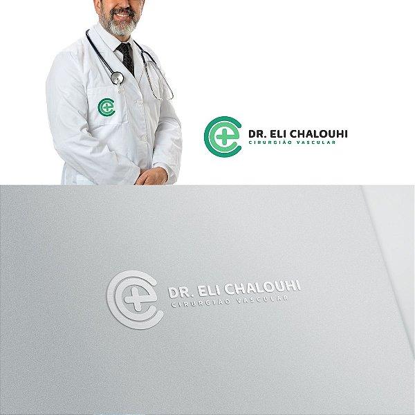 Logotipo, Cartão de Visita, Papel Timbrado, Envelope Saco, Post Instagram e Receituário