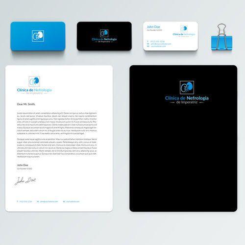 Criação de Logotipo, Cartão de Visita, Papel Timbrado e Envelope