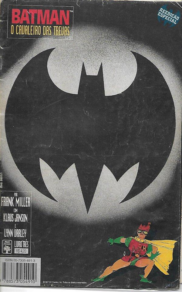 Batman - O Cavaleiro das Trevas, nº 3, por Frank Miller