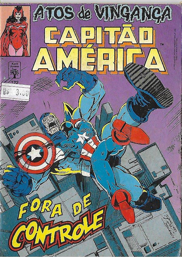 Capitão América - 172 - Formatinho - Atos de vingança - Fora de controle