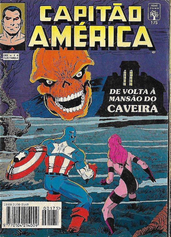 Capitão América - 175 - Formatinho - De volta à Mansão do Caveira