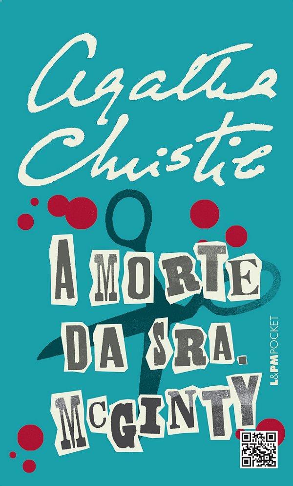 A morte da sra. Mcginty - Agatha Christie - Livro de Bolso - USADO