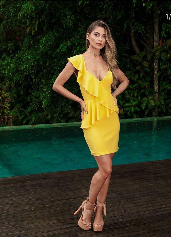 Vestido Ouro LeBlogStore