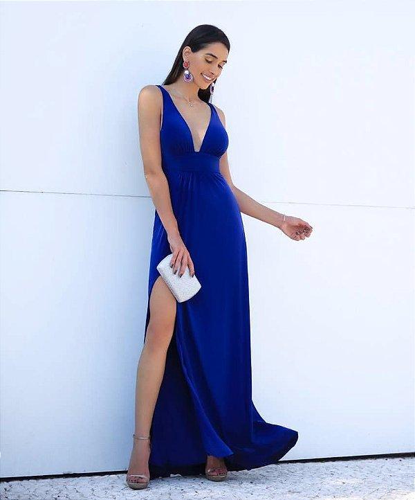 Vestido longo Gabriella