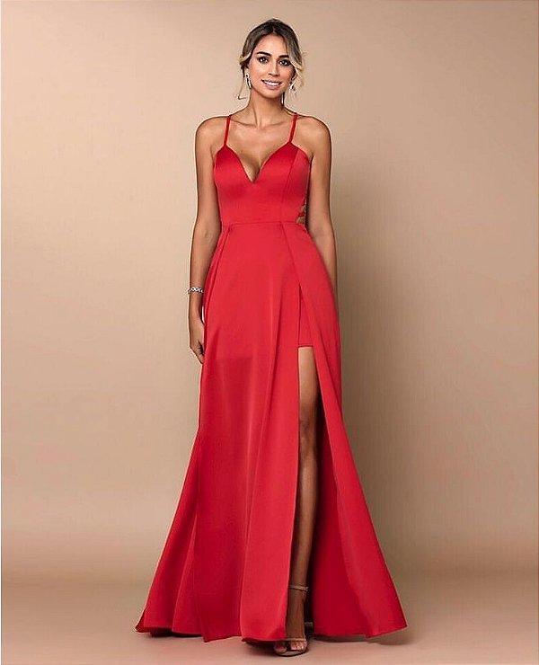 Vestido longo Marianna