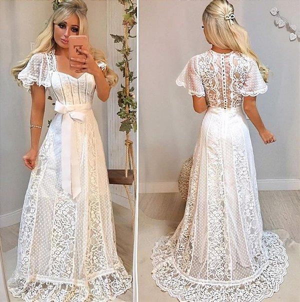 Vestido de Noiva Doce Maria Tailandia