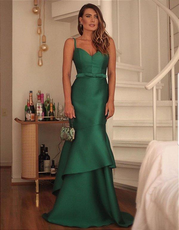 Vestido longo Julia