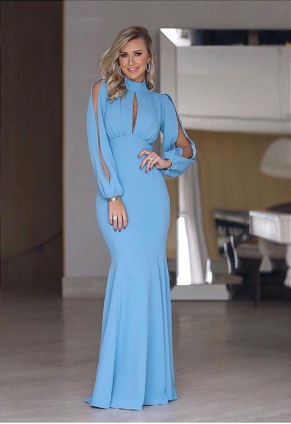 Vestido Zen Azul Serenity