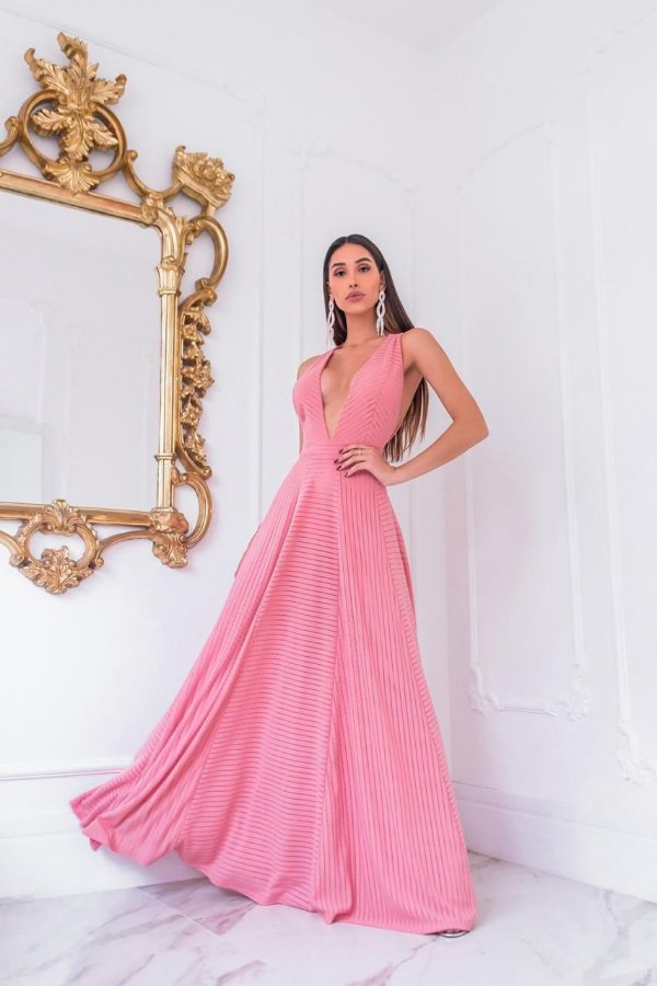 Vestido Saia princesa Camila