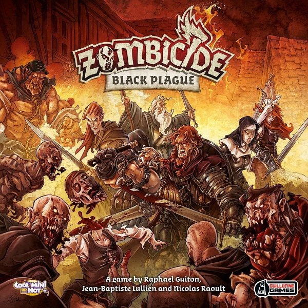 Zombicide Black Plague -  Board Game